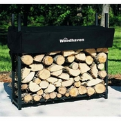 3' Woodhaven Firewood Rack and Standard Cover