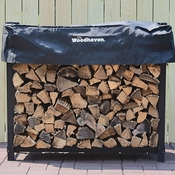 4' Woodhaven Firewood Rack and Standard Cover