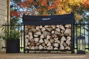 5' Woodhaven Firewood Rack and Standard Cover