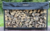 6' Woodhaven Firewood Rack and Standard Cover