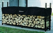 8' Woodhaven Firewood Rack and Standard Cover