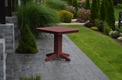 """A & L Furniture - 33"""" Square Dining Table - 4150 - Cherry Poly"""