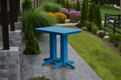 A & L Furniture - 4' Bar Table - 5100 - Blue Poly