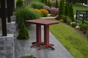 A & L Furniture - 4' Bar Table - 5100 - Cherry Poly
