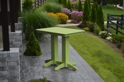A & L Furniture - 4' Bar Table - 5100 - Tropical Lime Green Poly