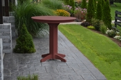 """A & L Furniture - 44"""" Round Bar Table - 4181 - Cherry Poly"""