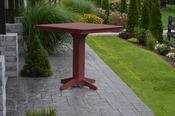 """A & L Furniture - 44"""" Square Bar Table - 4191 - Cherry Poly"""