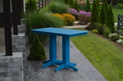 A & L Furniture - 5' Bar Table - 5101 - Blue Poly