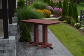 A & L Furniture - 5' Bar Table - 5101 - Cherry Poly