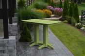 A & L Furniture - 5' Bar Table - 5101 - Tropical Lime Green Poly