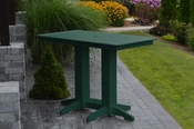 A & L Furniture - 5' Bar Table - 5101 - Turf Green Poly