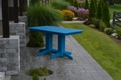 A & L Furniture - 5' Dining Table - 4161 - Blue Poly