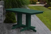 A & L Furniture - 5' Dining Table - 4161 - Turf Green Poly