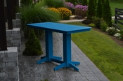 A & L Furniture - 6' Bar Table - 5102 - Blue Poly