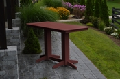 A & L Furniture - 6' Bar Table - 5102 - Cherry Poly