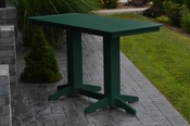 A & L Furniture - 6' Bar Table - 5102 - Turf Green Poly