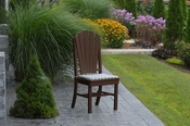 A & L Furniture - Adirondack Dining Chair - 4104 - Tudor Brown Poly