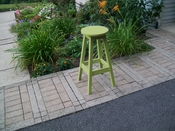 A & L Furniture - Bar Stool - 4130 - Tropical Lime Green Poly