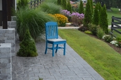 A & L Furniture - Classic Dining Chair - 4100 - Blue Poly