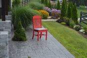 A & L Furniture - Classic Dining Chair - 4100 - Bright Red Poly
