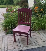 A & L Furniture - Classic Dining Chair - 4100 - Cherry Poly