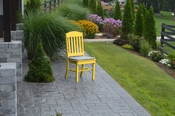 A & L Furniture - Classic Dining Chair - 4100 - Lemon Yellow Poly