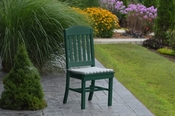 A & L Furniture - Classic Dining Chair - 4100 - Turf Green Poly