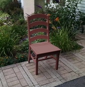 A & L Furniture - Ladderback Dining Chair - 4103 - Cherry Poly