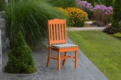 A & L Furniture - Royal Dining Chair - 4102 - Bright Orange Poly