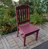 A & L Furniture - Royal Dining Chair - 4102 - Cherry Poly