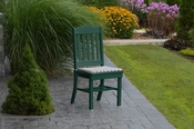 A & L Furniture - Royal Dining Chair - 4102 - Turf Green Poly
