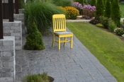 A & L Furniture - Traditional Dining Chair - 4101 - Lemon Yellow Poly