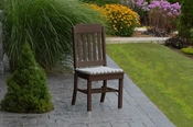 A & L Furniture - Traditional Dining Chair - 4101 - Tudor Brown Poly