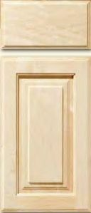 Alder Stile & Rail Cabinet Door<br>Raised Panel<br>Series DP-590 Unfinished