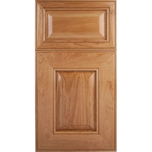 Soft Maple Mitered Cabinet Door - Raised Panel - Series F53-P6 Unfinished