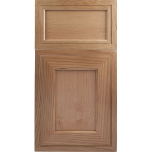 Soft Maple Mitered Cabinet Door - Recessed Panel - Series F3-P1 Unfinished