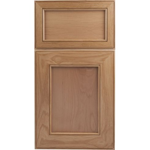 Soft Maple Mitered Cabinet Door - Recessed Panel - Series F36-P1 Unfinished