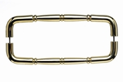 "Top Knobs - Appliance Collection - Nouveau Ring Appliance Pull 12"" (c-c) - Polished Brass - M715-12"