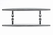 "Top Knobs - Appliance Collection - Nouveau Arrow Appliance Pull 8"" (c-c) - Polished Chrome - M851-8"