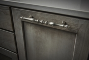 """Top Knobs - Appliance Collection - Somerset Melon Appliance Pull 12"""" (c-c) - Oil Rubbed Bronze - M816-12"""