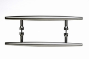 "Top Knobs - Appliance Collection - Nouveau Arrow Appliance Pull 8"" (c-c) - Brushed Satin Nickel - M850-8"