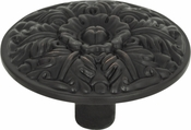 Atlas Homewares - 138-VB - Hammered Medallion Knob 1 1/2 Inch - Venetian Bronze