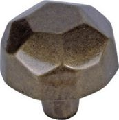 Atlas Homewares - 162-BB - D Wrought Ball Knob 1 1/2 Inch - Burnished Bronze