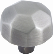 Atlas Homewares - 162-P - D Wrought Ball Knob 1 1/2 Inch - Pewter