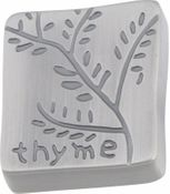Atlas Homewares - 206-P - D Thyme Quad Knob 1 1/2 Inch - Pewter