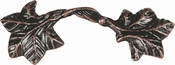 Atlas Homewares - 2202-VB - Vineyard Leaf Pull 3 Inch (c-c) - Venetian Bronze