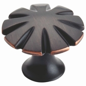 Atlas Homewares - 30071-VB - D Fluted Knob 1 1/2 Inch - Venetian Bronze