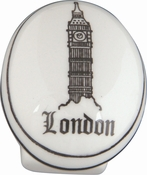 Atlas Homewares - 3142 - D London Knob 1 1/4 Inch - Ceramic