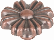 Atlas Homewares - 4001-C - D Seville Knob 1 3/4 Inch - Copper