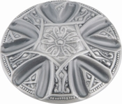 Atlas Homewares - 4014-P - Maltese Knob 1 5/8 Inch - Pewter